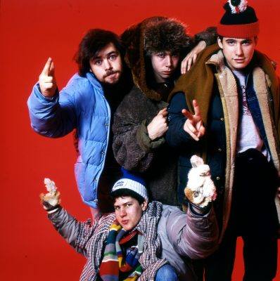 BEASTIE BOYS WITH RICK RUBIN NYC 1985