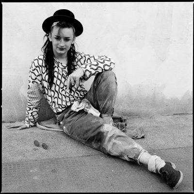 BOY GEORGE LONDON 1981