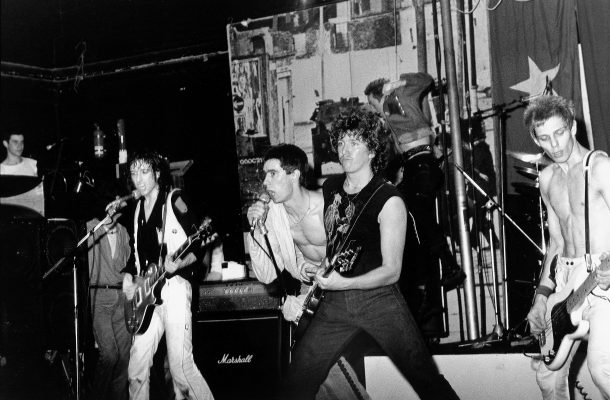 THE CLASH WITH JIMMY PURSEY & STEVE JONES 1979