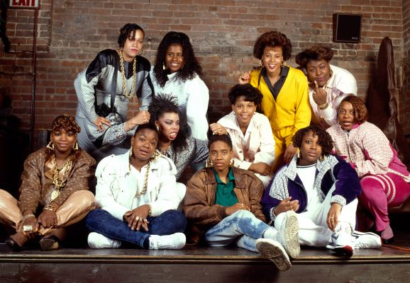 WOMEN RAPPERS NYC 1988