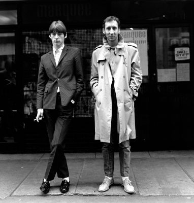PAUL WELLER & PETE TOWNSHEND LONDON 1980