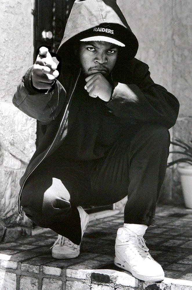 Ice Cube Inglewood Ca 1990 Janette Beckman