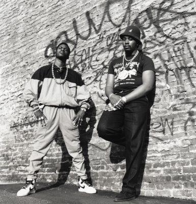 ERIC B & RAKIM NYC 1987