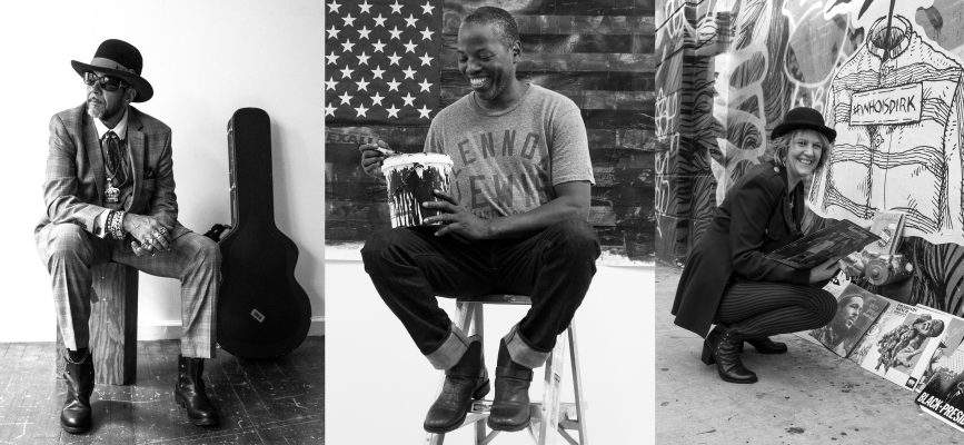 KING, CEY ADAMS, DJ MISBEHAVIOR FOR FIORENTINI&BAKER SHOES CAMPAIGN