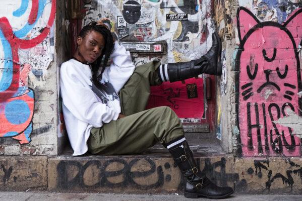 NICHOLE WASHINGTON, ARTIST, NYC, FIORENTINI & BAKER  FOOTWEAR CAMPAIGN