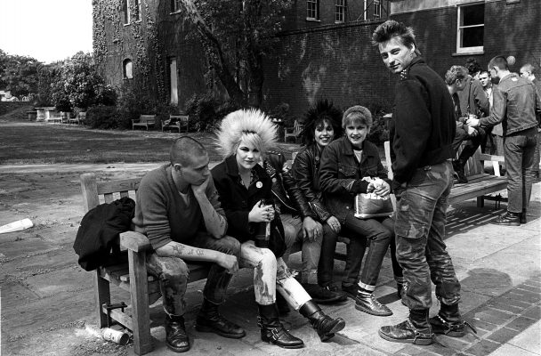 Punks Words End London1978-