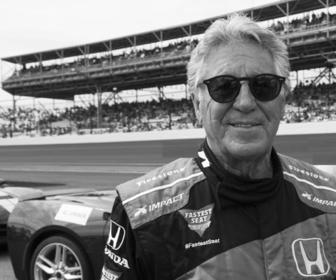 Race legend Mario Andretti