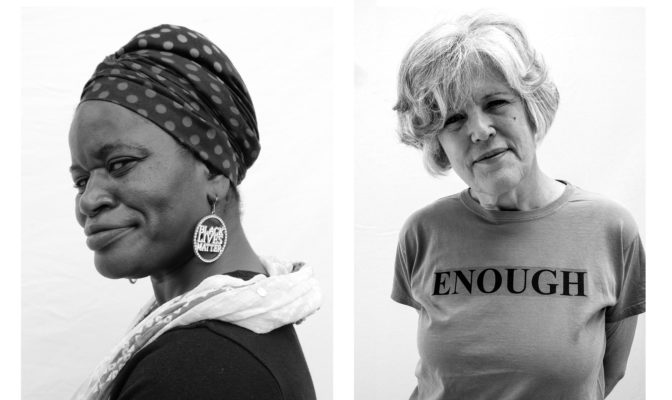 'I VOTE BECAUSE' CAMPAIGN, PORTRAITS ACROSS THE US